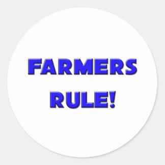 Farmers Rule! Stickers