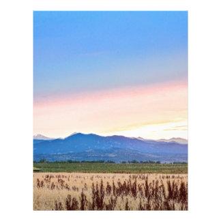 Farmers Sunset Letterhead