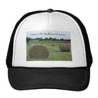Farmers:The Backbone Of America Trucker Hat