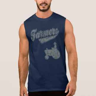 Farmers Tractor Sleeveless Shirt