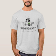 Farmhand by day, Irish Magician by night T-Shirt
