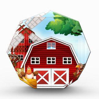 Farmhouse Acrylic Award