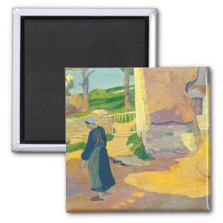 Farmhouse at Le Pouldu, 1890 (oil on canvas) Magnet