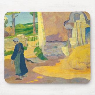 Farmhouse at Le Pouldu, 1890 (oil on canvas) Mouse Pad
