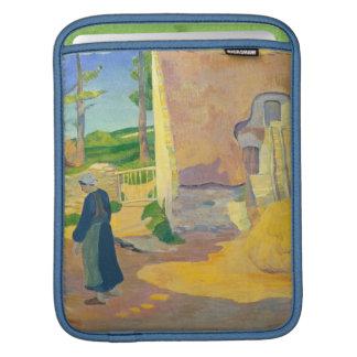 Farmhouse at Le Pouldu, 1890 (oil on canvas) Sleeve For iPads