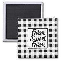 Farmhouse Buffalo Check Magnet