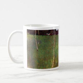 Farmhouse by Gustav Klimt Coffee Mugs