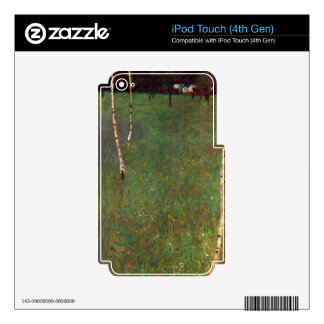 Farmhouse by Gustav Klimt Decal For iPod Touch 4G