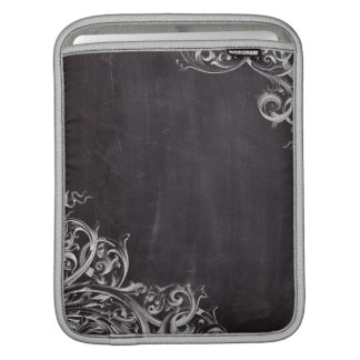 farmhouse chalkboard french country monogrammed iPad sleeve
