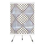 Farmhouse-Design's_Silver-Diamond's- Dot's__Unisex Tripod Lamp