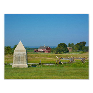 Farmhouse - Gettysburg National Park - Gettysburg, Poster