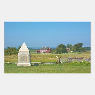 Farmhouse - Gettysburg National Park, PA Rectangular Sticker