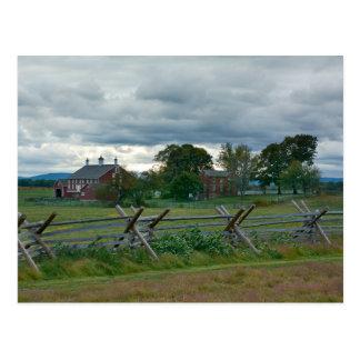 Farmhouse - Gettysburg National Park Pennsylvania Postcard