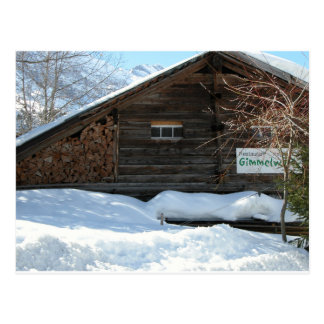 Farmhouse, Gimmelwald, Jungfrau,Switzerland Postcard