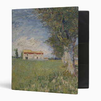 Farmhouse in a wheat field Binder