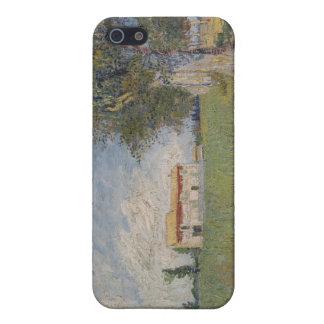 Farmhouse in a wheat field iPhone SE/5/5s case