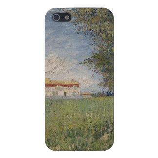 Farmhouse in a wheat field iPhone SE/5/5s cover