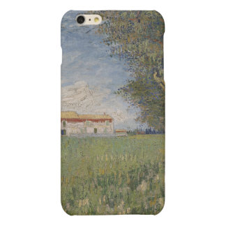 Farmhouse in a wheat field matte iPhone 6 plus case