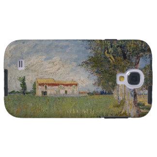 Farmhouse in a wheat galaxy s4 case