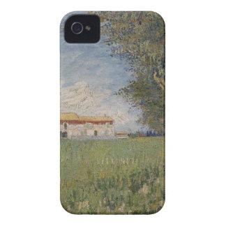 Farmhouse in a wheat iPhone 4 case