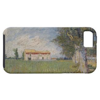 Farmhouse in a wheat iPhone 5 Case