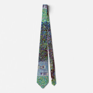 Farmhouse in Austria by Klimt, Victorian Fine Art Tie