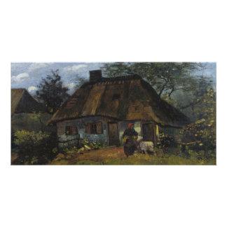 Farmhouse in Nuenen by Vincent Van Gogh Card