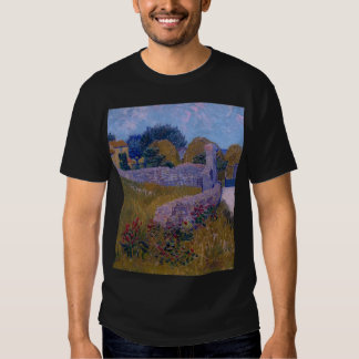farmhouse in provence-1888-vincent van gogh shirt
