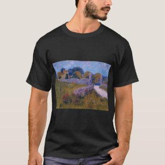 farmhouse in provence 1888 vincent van gogh  title T-Shirt