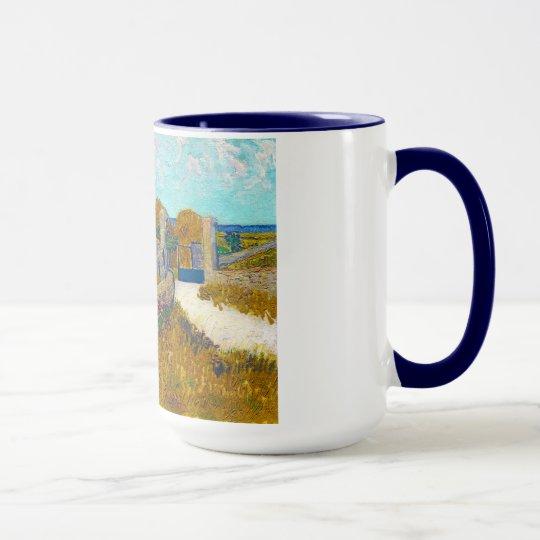 Farmhouse in Provence by Vincent Van Gogh Mug