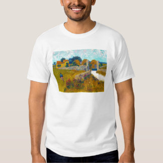 Farmhouse in Provence by Vincent Van Gogh Tee Shirt