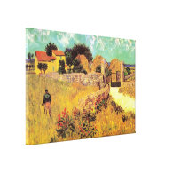 Farmhouse in Provence by Vincent van Gogh van Gogh Canvas Prints