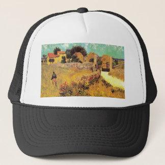 Farmhouse in Provence by Vincent van Gogh van Gogh Trucker Hat