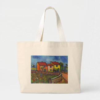FARMHOUSE IN PROVENCE LARGE TOTE BAG
