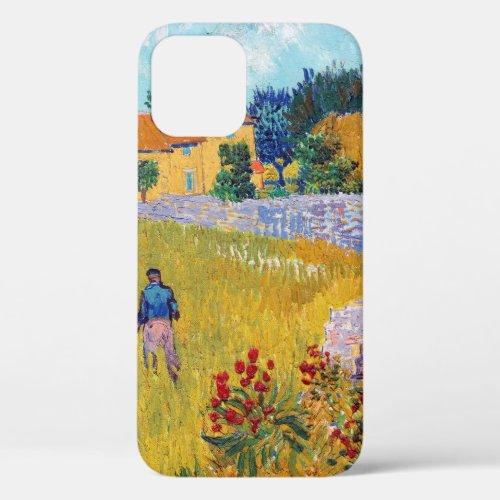 Farmhouse in Provence, Van Gogh Phone Case