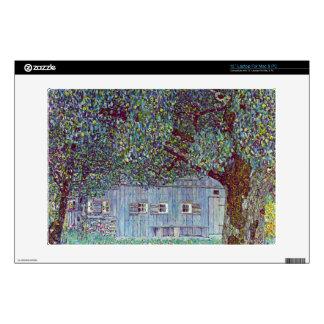 Farmhouse in Upper Austria by Gustav Klimt Skin For Laptop
