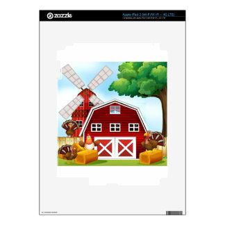 Farmhouse iPad 3 Skin