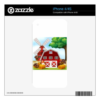 Farmhouse iPhone 4S Skin