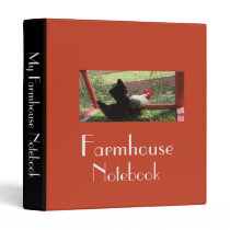 Farmhouse Notebook 3 Ring Binder