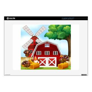 """Farmhouse Skin For 15"""" Laptop"""