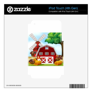 Farmhouse Skin For iPod Touch 4G