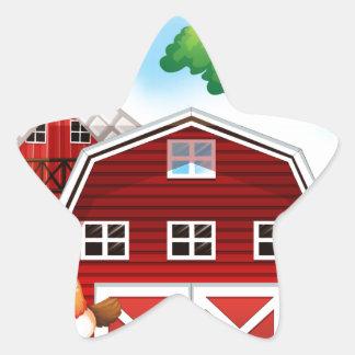 Farmhouse Star Sticker