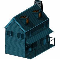 farmhouse statuette