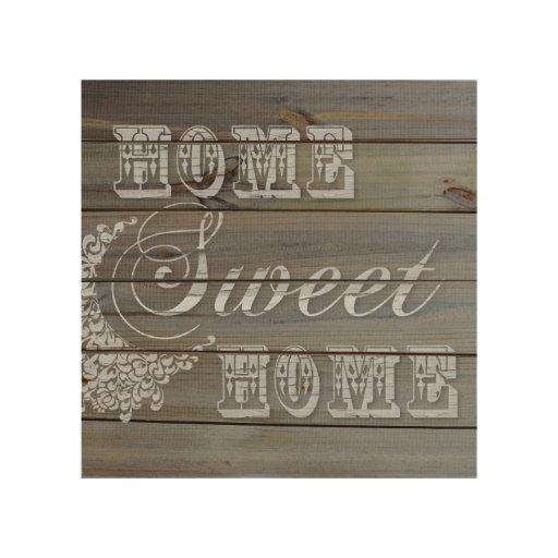 Farmhouse Style Home Sweet Home Wall Decor Wood Wall Decor