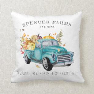 Vintage Truck Decorative Throw Pillows Zazzle