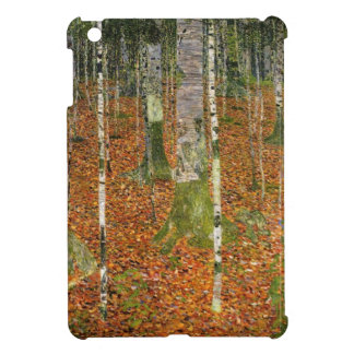Farmhouse with Birch Trees iPad Mini Covers