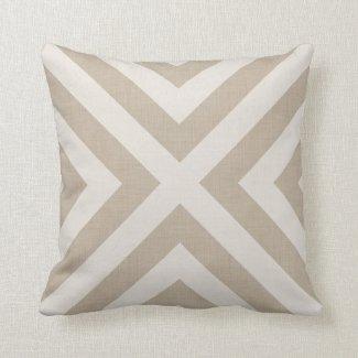 Tan Linen Throw Pillow : Beige Throw Pillows Pretty Throw Pillows
