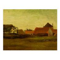 Farmhouses in Loosduinen near The Hague... Post Card