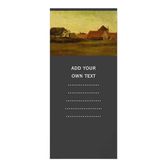 Farmhouses in Loosduinen near The Hague... Rack Card