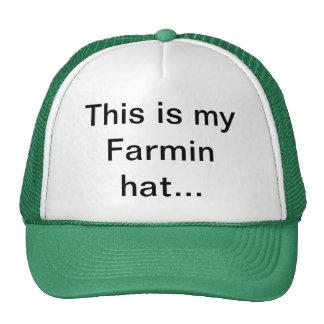 Farmin hat